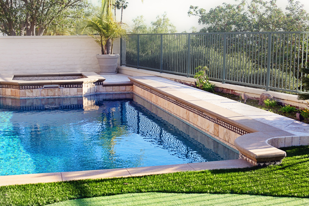 Pool service a gallery of orange county pools for Pool service