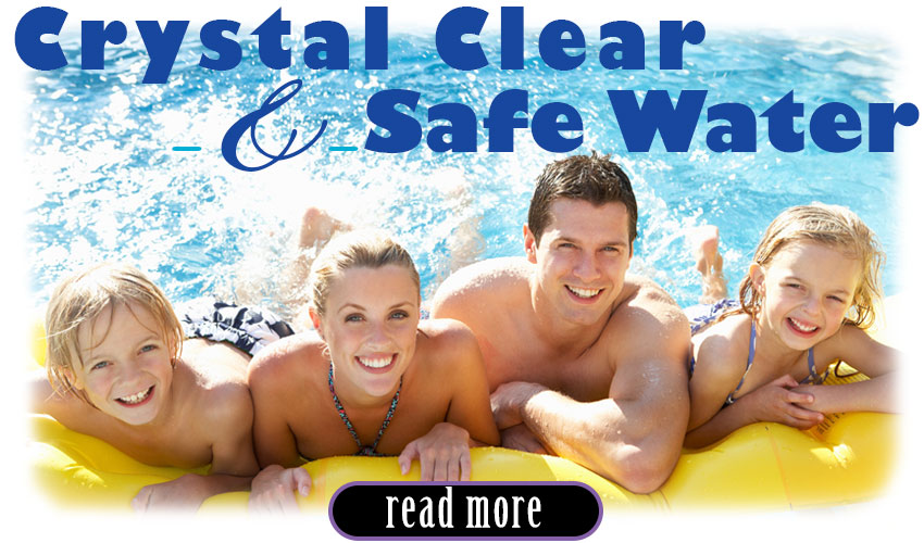 clean and safe pool water